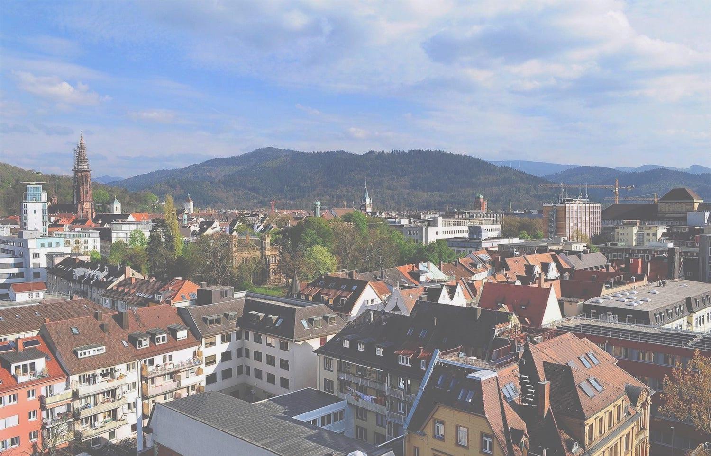 View over Freiburg