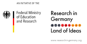 Research in germany. Land of Ideas. Logo small