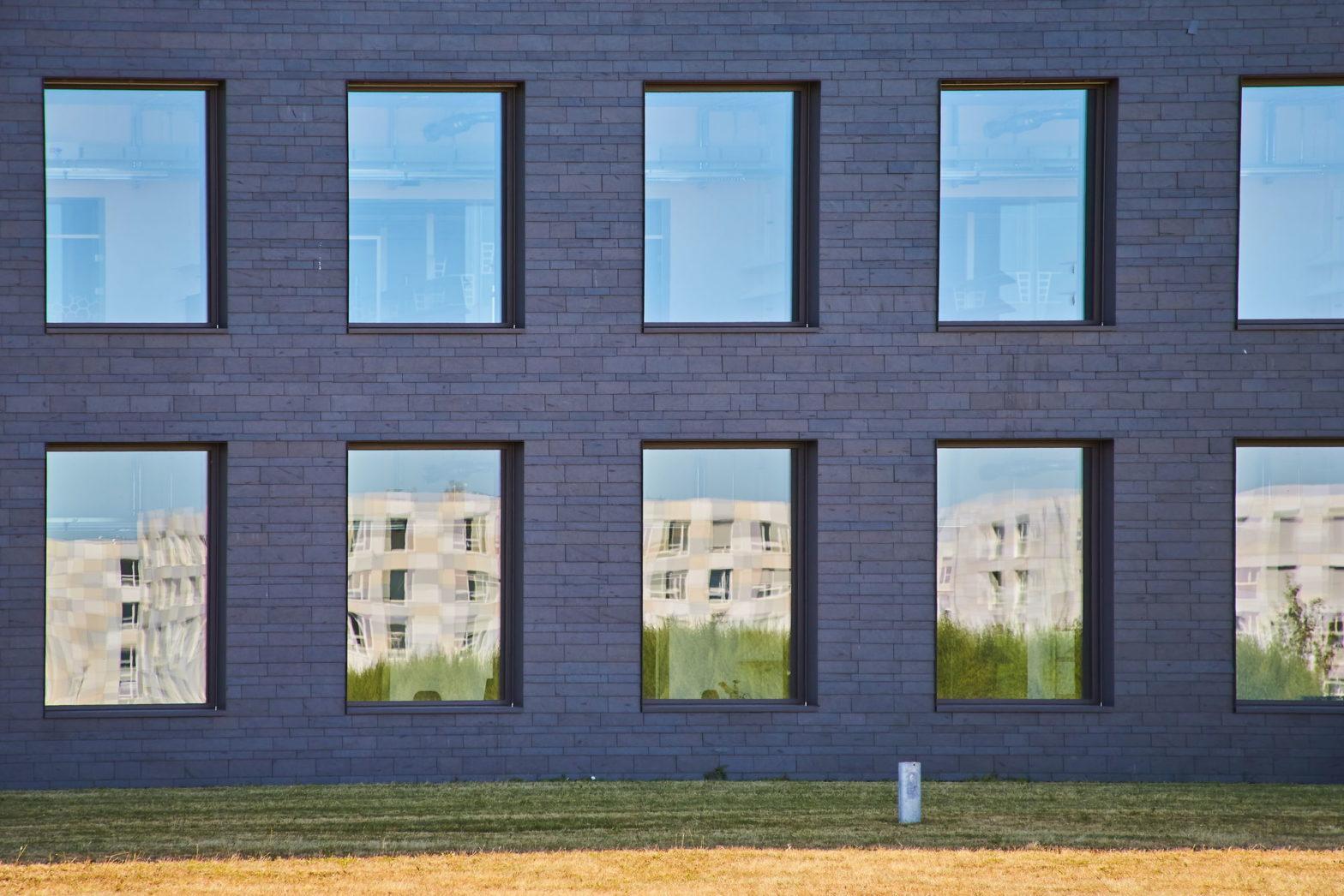 Ein Gebäude der Technischen Fakultät