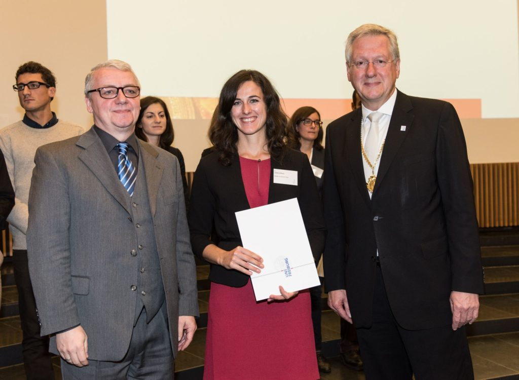 Freiburg prizes for the promotion of young talents 2015