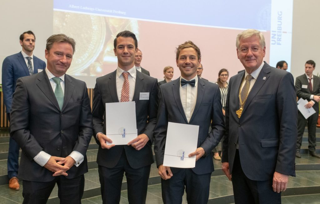 Freiburg prizes for the promotion of young talents 2018