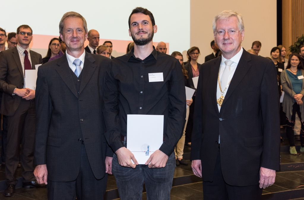 Freiburg prizes for the promotion of young talents 2016
