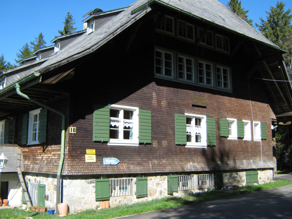 University House on Schauinsland