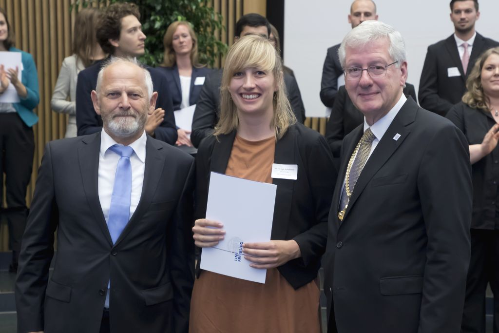 Freiburg prizes for the promotion of young talents 2019