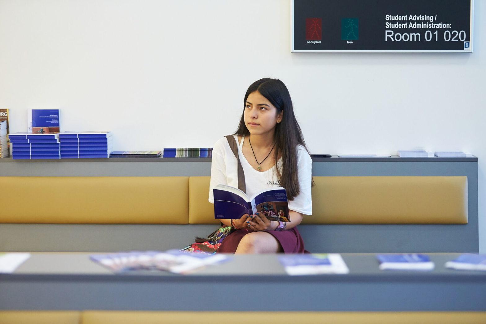 Eine Studierende im SCS