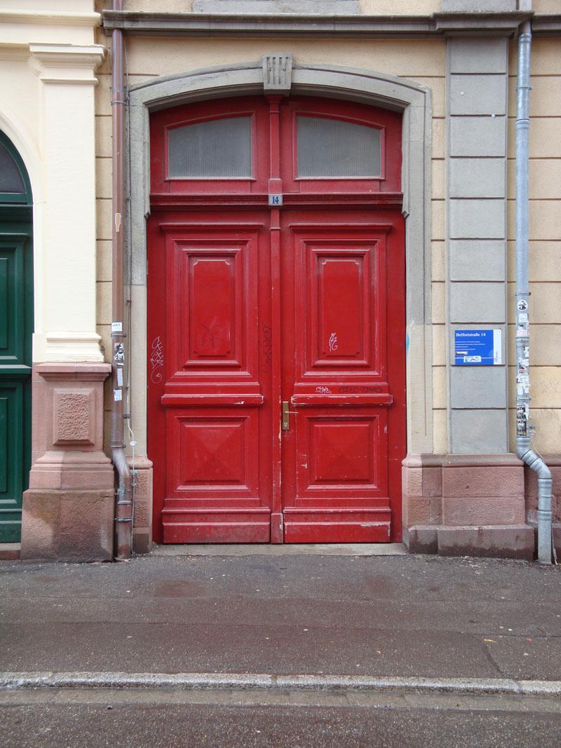 Eingang Belfortstr. 14
