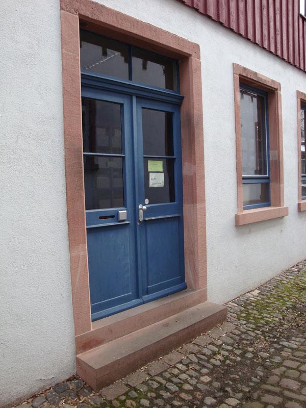 Eingang Belfortstr. 22