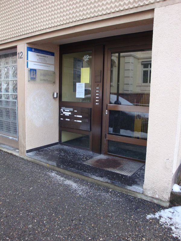 Eingang Erbprinzenstr. 12