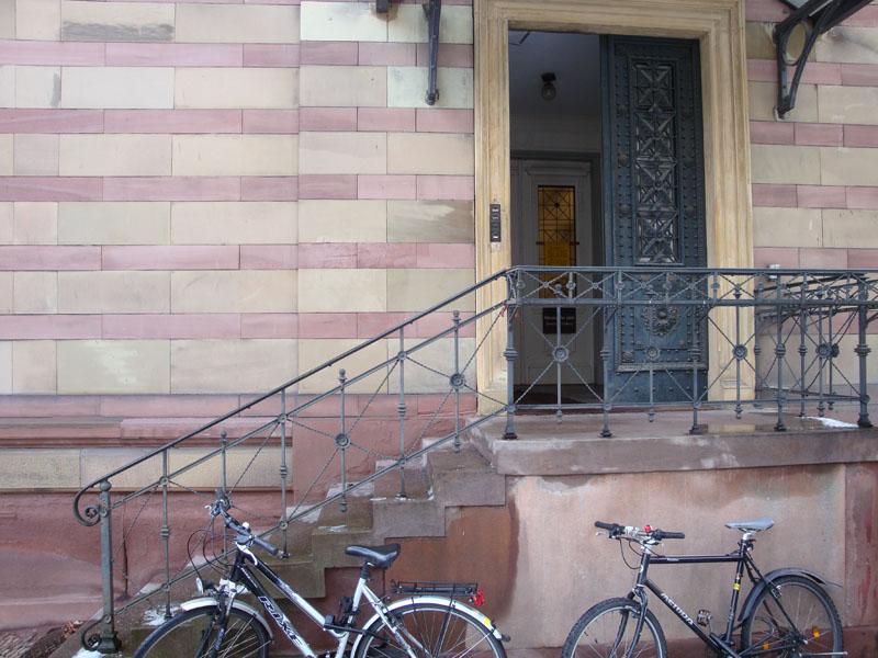 Eingang Werthmannstr. 10