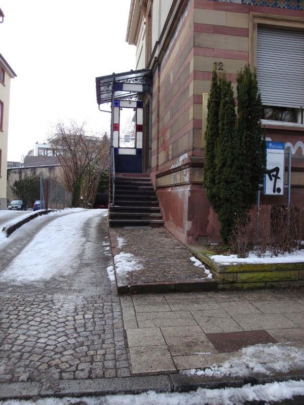 Eingang Werthmannstr. 12