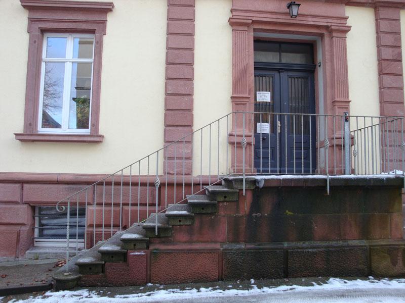 Eingang Werthmannstr. 14