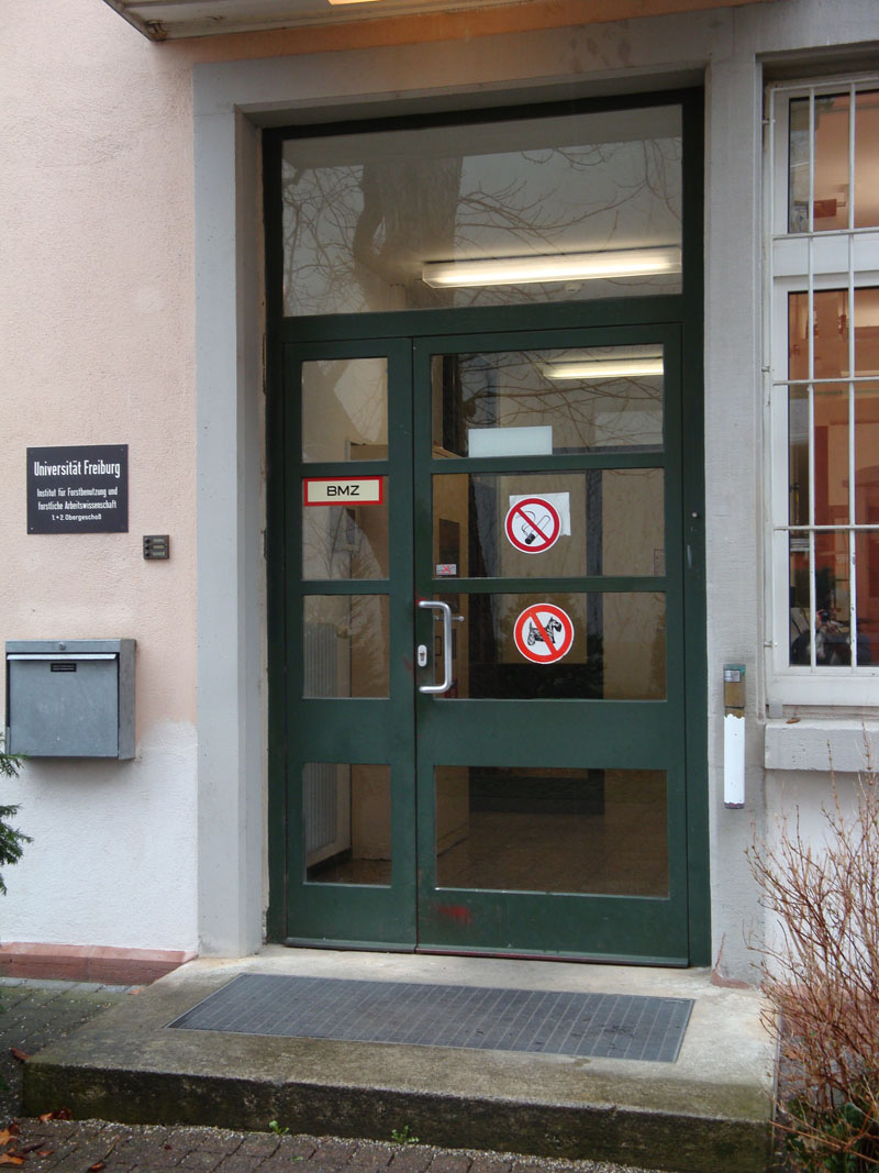 Eingang Werthmannstr. 6