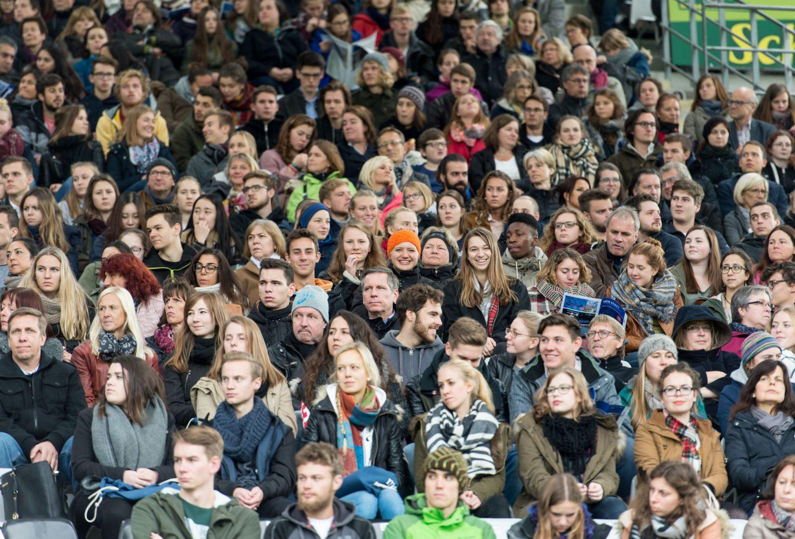 Erstsemesterbegrüßung im Schwarzwaldstadion